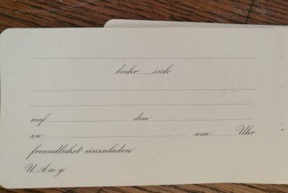 16 einladungskarten blanko runde ecken - carakess - shop