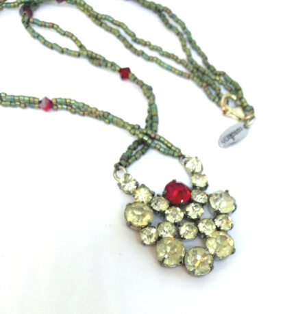 Halskette-Strass-rot-gruen_2