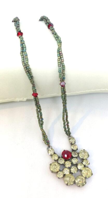 Halskette-Strass-rot-gruen_4