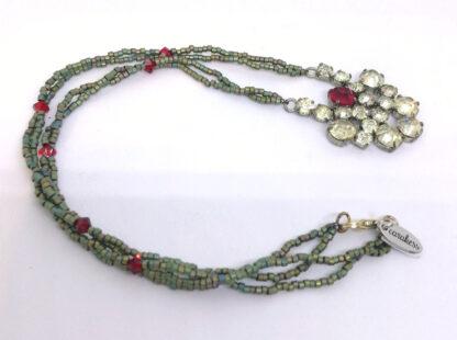 Halskette-Strass-rot-gruen_5