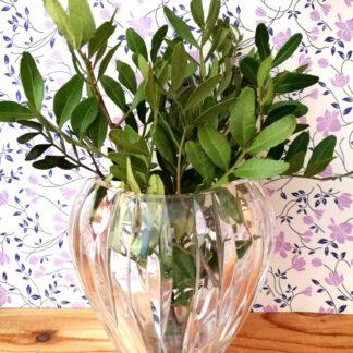 Kristall Vase bauchige Form_2