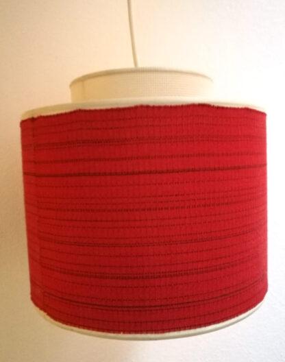 Lampenschirm rot doppelt 1950er_2