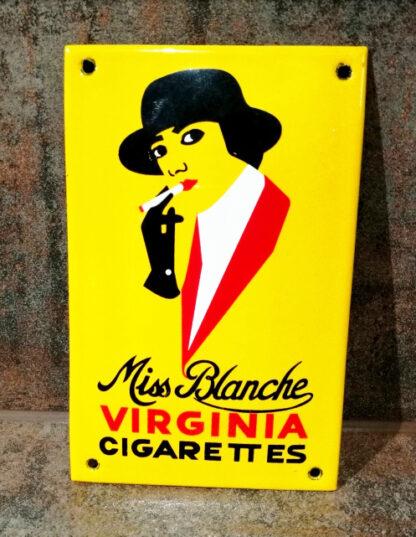 Miss_Blanche_Emailleschild_1