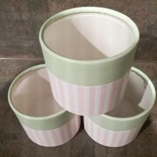 Pappdose für Pralinen, Lebkuchen, Plätzchen.Deckeldose