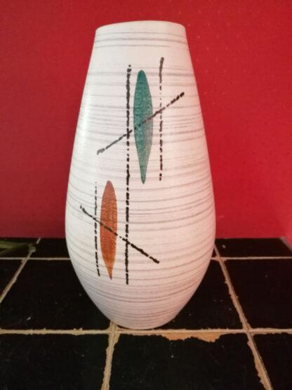 Vase Keramik Malerei 1950er_4