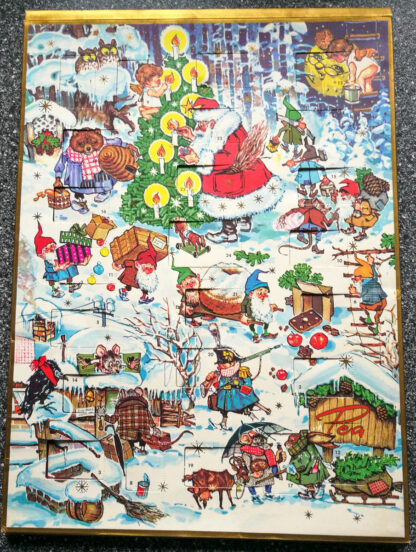 Pea-Adventskalender mit Zwergen