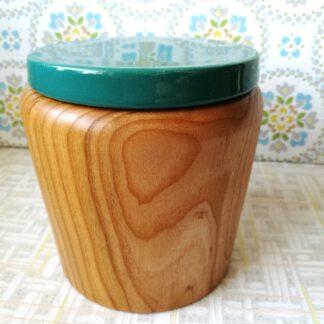 Holzdose Kirsche Melitta Nr. 8